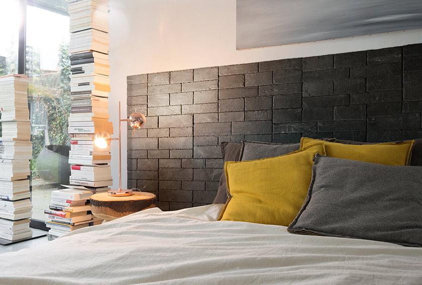 une t te de lit totalement diy en 30 minutes stonetack. Black Bedroom Furniture Sets. Home Design Ideas