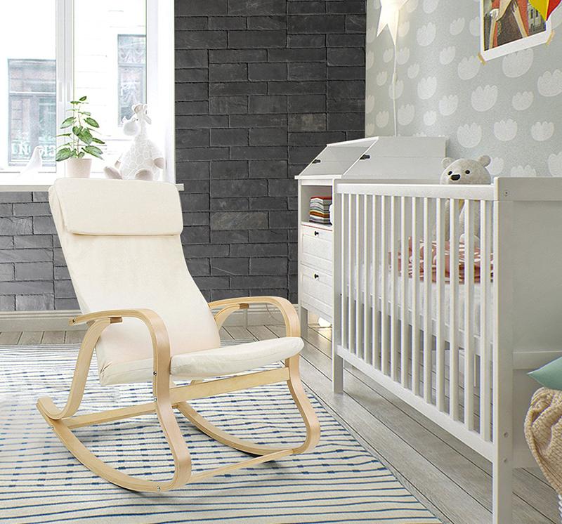 habitación bebé con paneles de pizarra